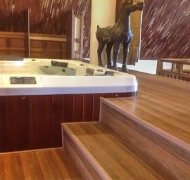 Ốp gỗ Biowood cho WC